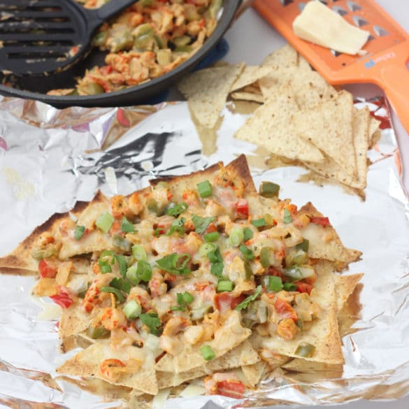 Crawfish Nachos from Living Well Kitchen