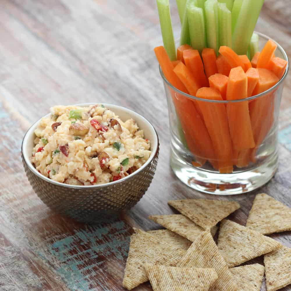 Loaded Pimento Cheese from Living Well Kitchen