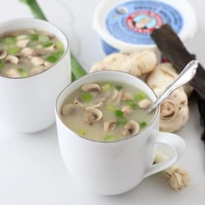 Miso Soup from Living Well Kitchen
