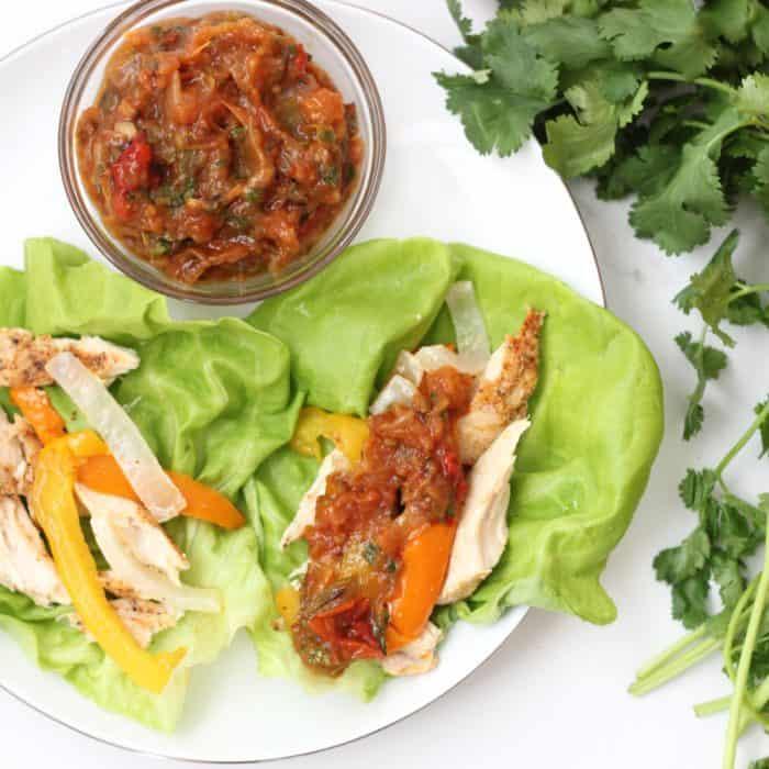 Roasted Vegetable Salsa