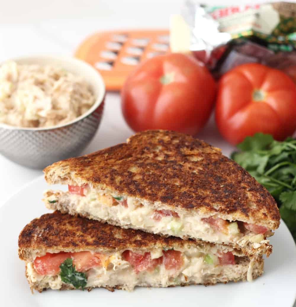 Chicken Salad Grilled Cheese from Living Well Kitchen