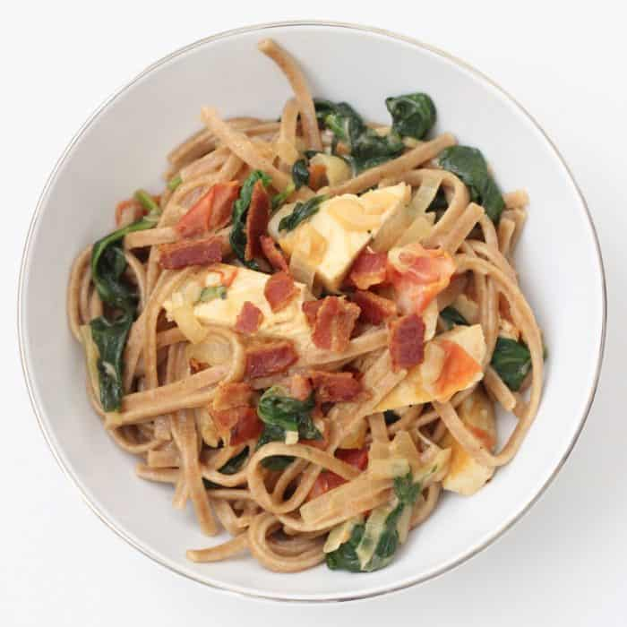Chicken Bacon Pasta from Living Well Kitchen