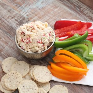 Pimento Cheese Chicken Salad from Living Well Kitchen
