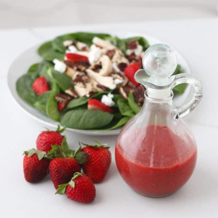 Strawberry Dressing from Living Well Kitchen