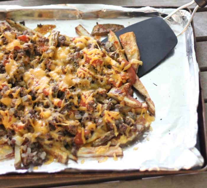 Hamburger Fries from Living Well Kitchen