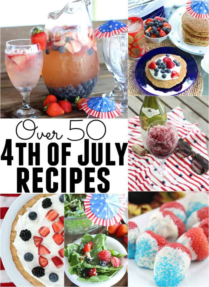 Over 50 recipes that are perfect for celebrating Independence Day from @memeinge. Festive & nourishing recipes for breakfast, apps & snacks, main meals, salads & sides, desserts, and drinks galore. Great for 4th of July party ideas