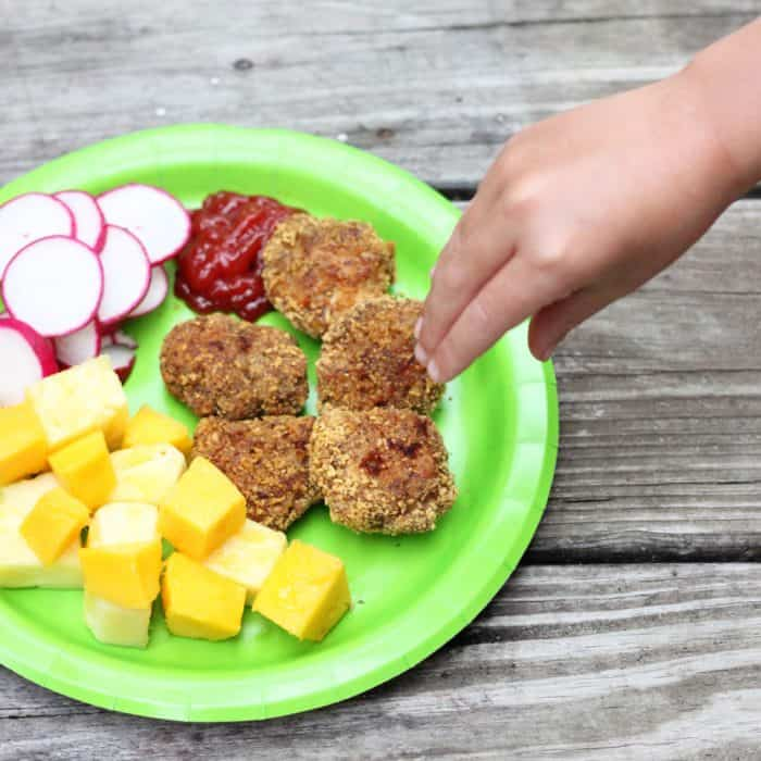 Homemade Chicken Nuggets from Living Well Kitchen