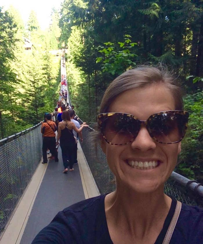 Trip to Canada - Capilano Suspension Bridge