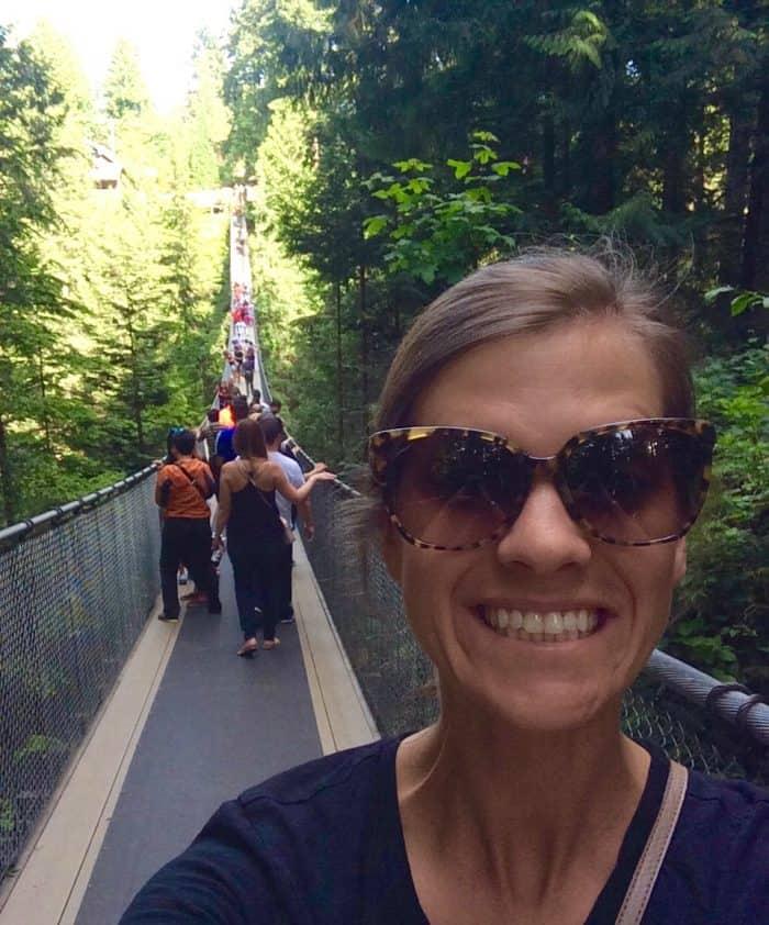 Trip to Canada - Capilano Suspension Bridge