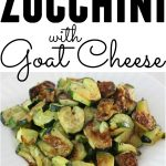 Roasted Zucchini Hearts with Goat Cheese from Living Well Kitchen