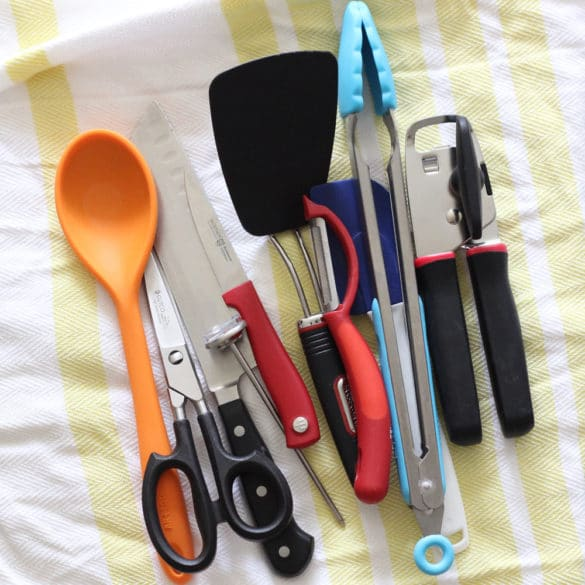 Top 10 Cooking Utensils from Living Well Kitchen