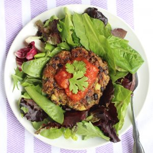 These tasty vegan avocado black bean burgers are delicious, filling, and easy on your wallet