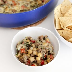 Cheesy Beef, Chickpeas and Veggies from Living Well Kitchen