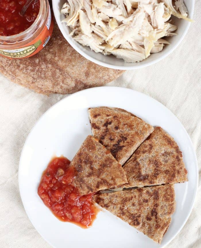 Chicken Quesadilla from Living Well Kitchen