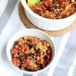 Mexican Quinoa Casserole from Living Well Kitchen
