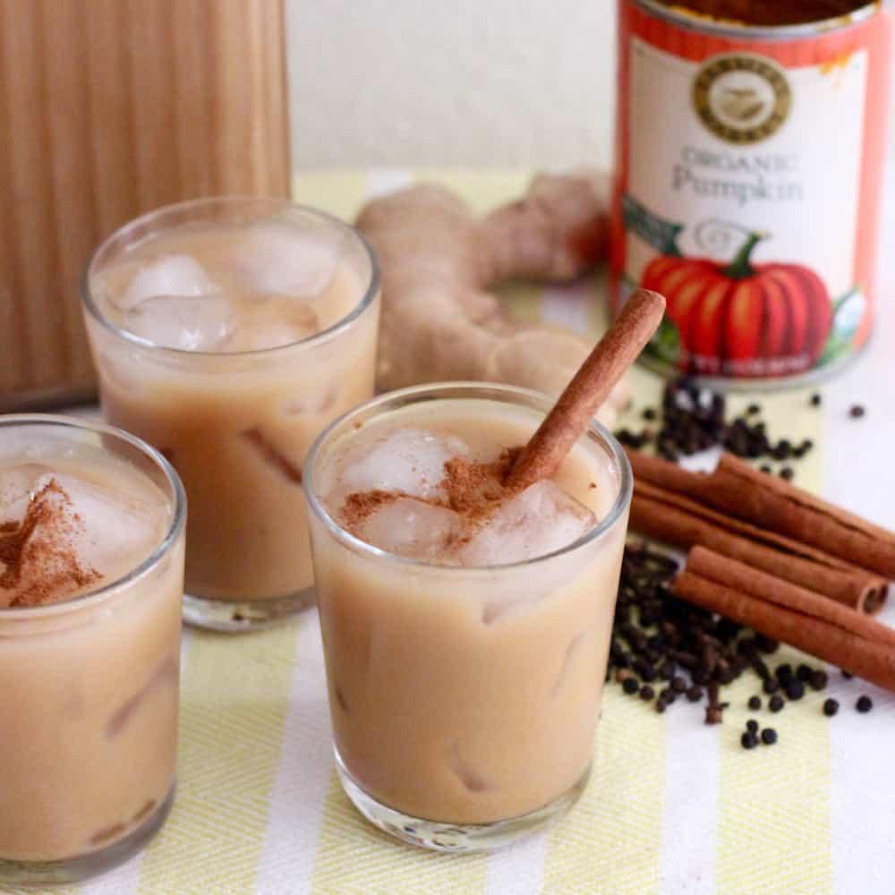Pumpkin Chai Latte from Living Well Kitchen