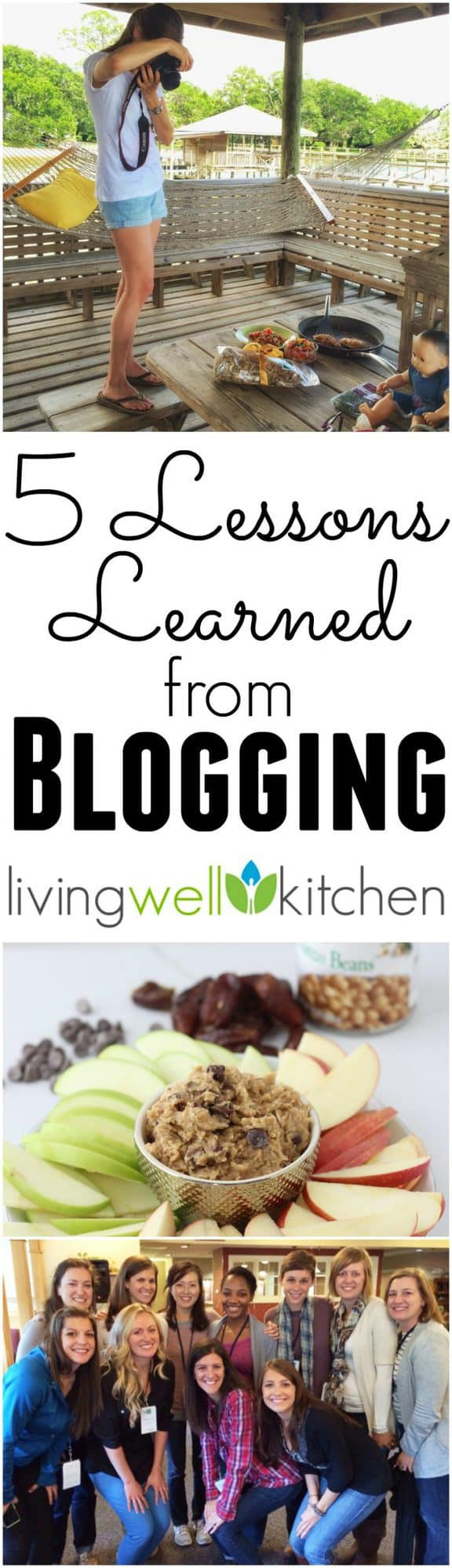 Living Well Kitchen celebrates its 5th birthday! Check out the 5 Lessons Learned from Blogging for five years in this post with a Facebook Live video