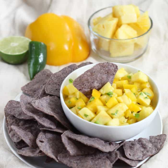 Pineapple Salsa from Living Well Kitchen