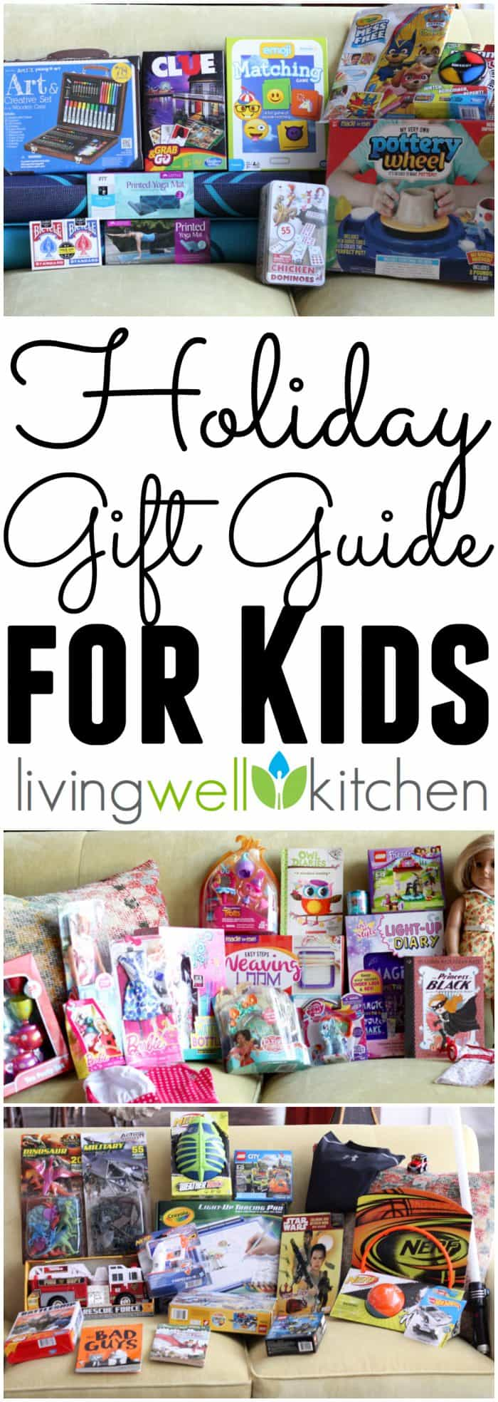 No need to stress about what to give the kids in your life for Christmas. This Holiday Gift Guide from @memeinge created by kids five to ten years old includes tons of options