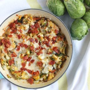 Cheesy Brussels Sprouts Dip from Living Well Kitchen