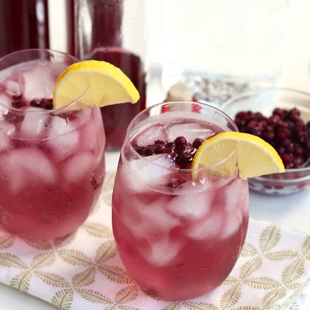 Wild Blueberry Lemon Vodka