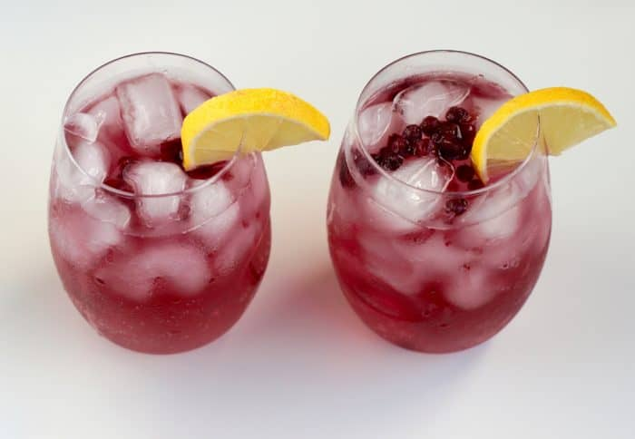 Wild Blueberry Lemon Vodka from Living Well Kitchen
