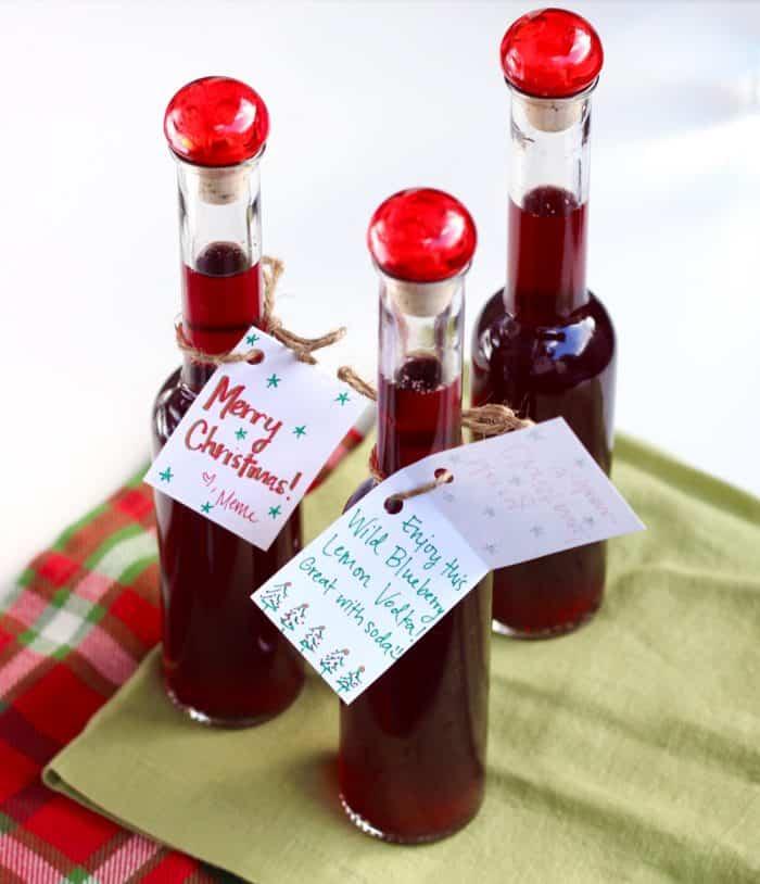 Wild Blueberry Lemon Vodka from Living Well Kitchen