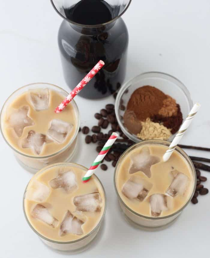 Gingerbread Coffee Concentrate from Living Well Kitchen