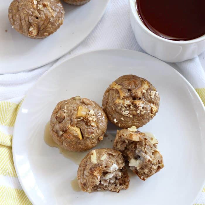 Apple Protein Pancake Muffins from Living Well Kitchen