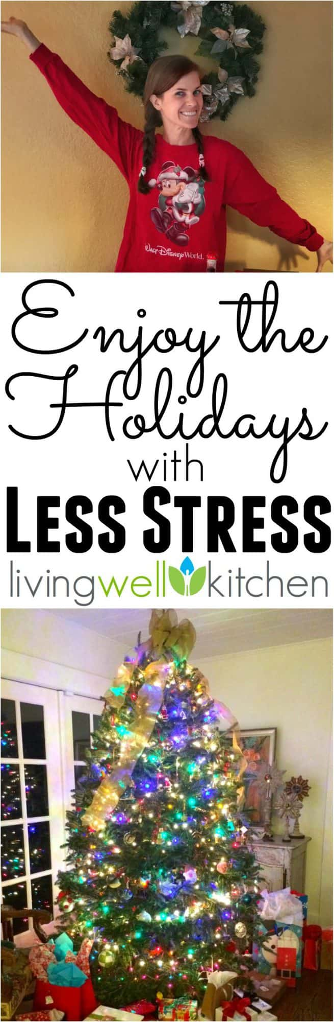 5 tips to help you stay sane over the Christmas season, so you can enjoy the holidays with less stress from @memeinge