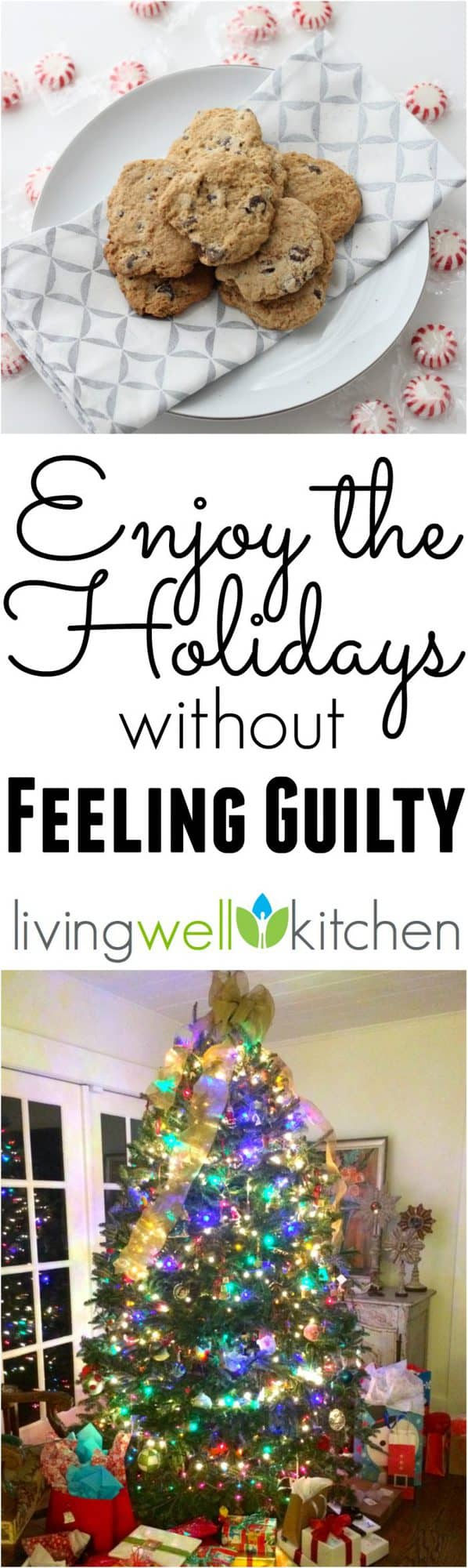 Enjoy the holidays without feeling guilty with these five tips from @memeinge to guide you in making the best choices for you and your body this Christmas season, and that includes wine, cookies, and rolls