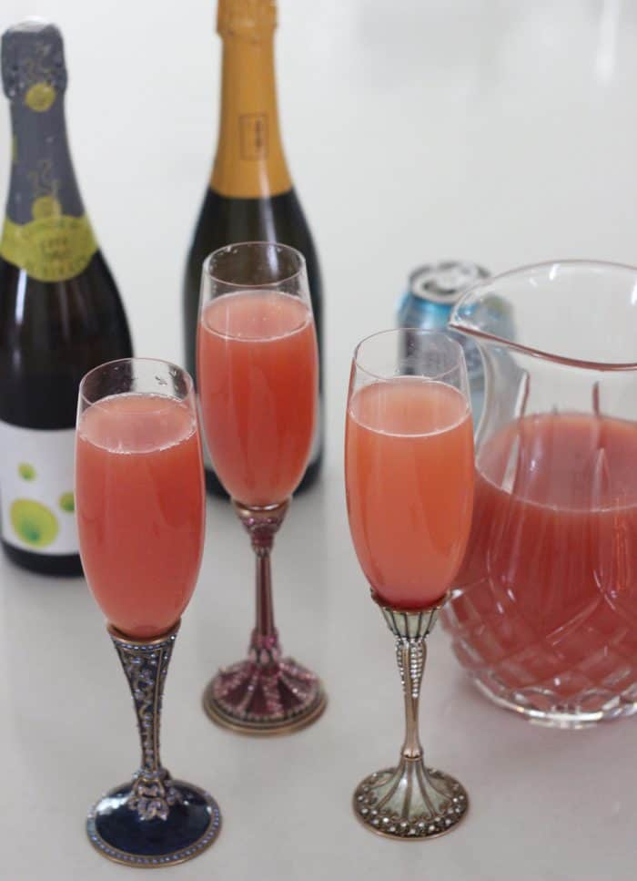 Sparkling Cranberry Apple Orange Cocktail from Living Well Kitchen