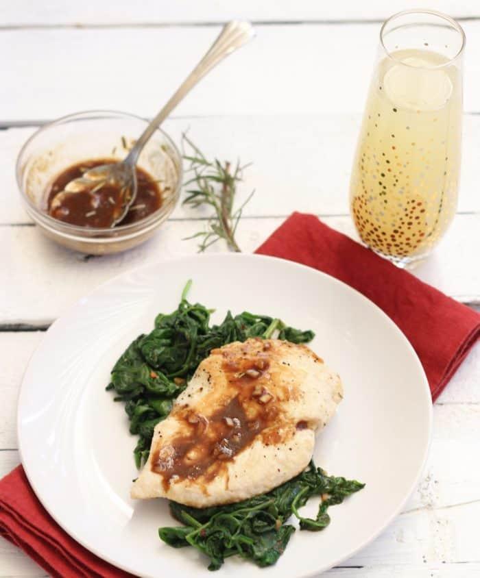 Orange Balsamic Chicken from Living Well Kitchen