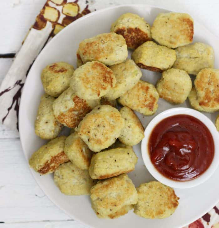 Cauliflower Tater Tots from Living Well Kitchen