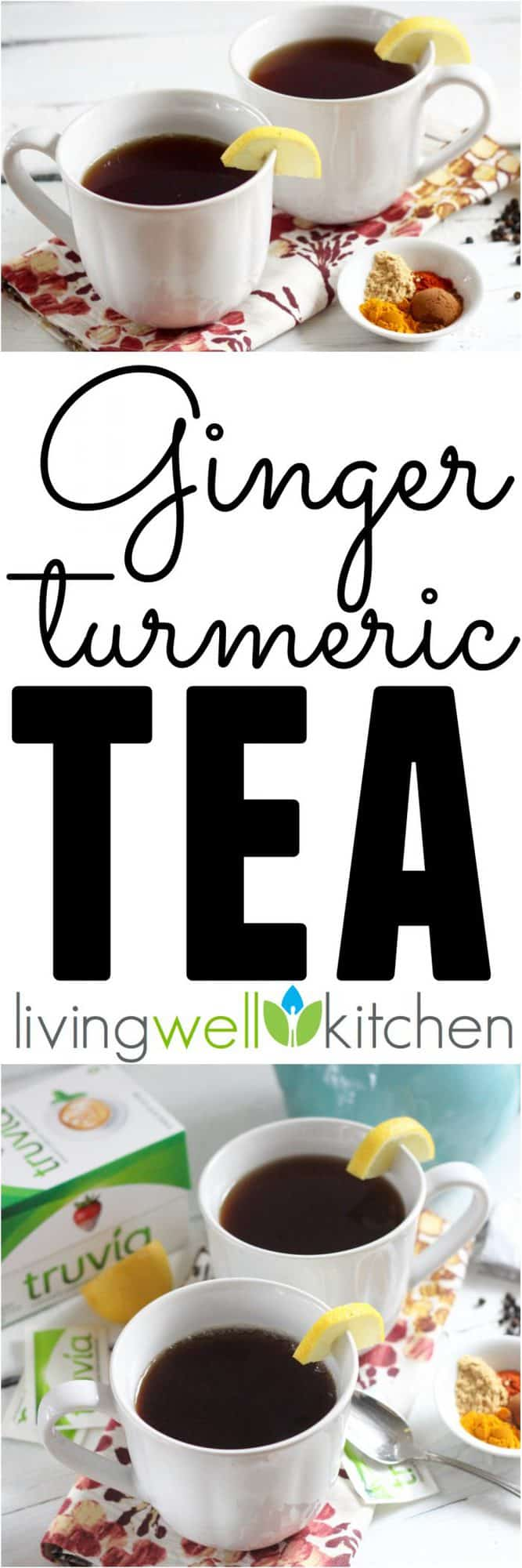 ad: This comforting Ginger Turmeric Tea from @memeinge is full of immune boosting spices with a deliciously spicy & sweet flavor thanks to cayenne & black pepper and Truvia®. This tasty hot beverage recipe is for everyone: gluten-free, vegetarian/vegan, dairy-free