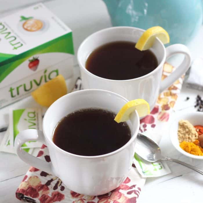 Turmeric Ginger Tea from Living Well Kitchen