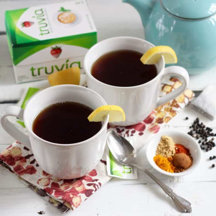 Ginger Turmeric Tea from Living Well Kitchen