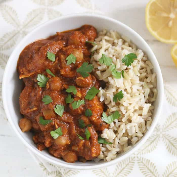 Slow Cooker Chicken Tikka Masala from Living Well Kitchen