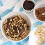 Peanut Butter Caramel Chocolate Dip from Living Well Kitchen
