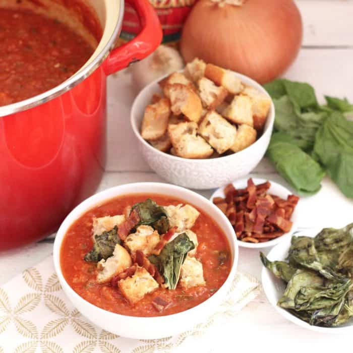 Pappa al Pomodoro from Living Well Kitchen