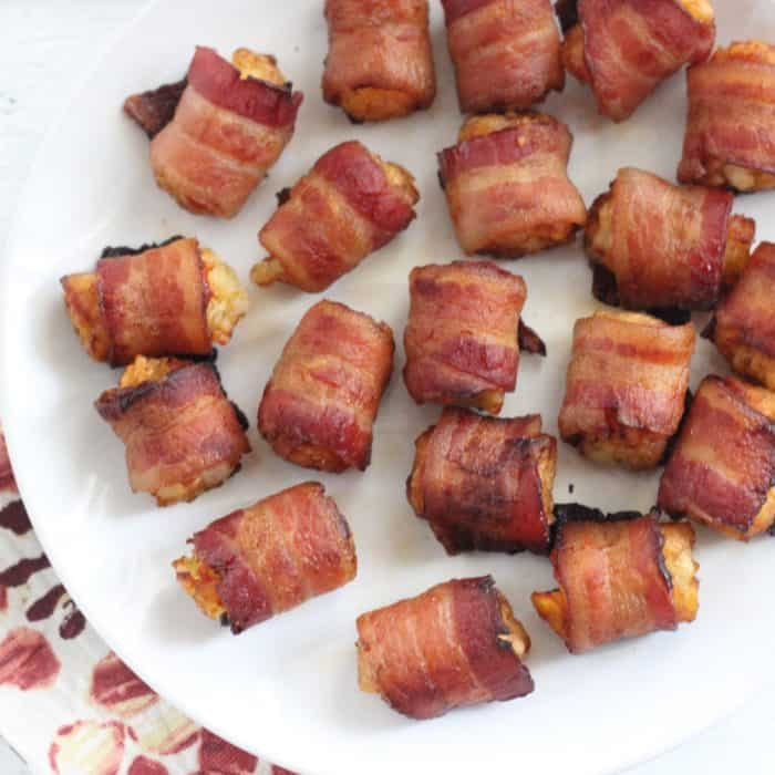 Bacon Wrapped Tater Tots from Living Well Kitchen