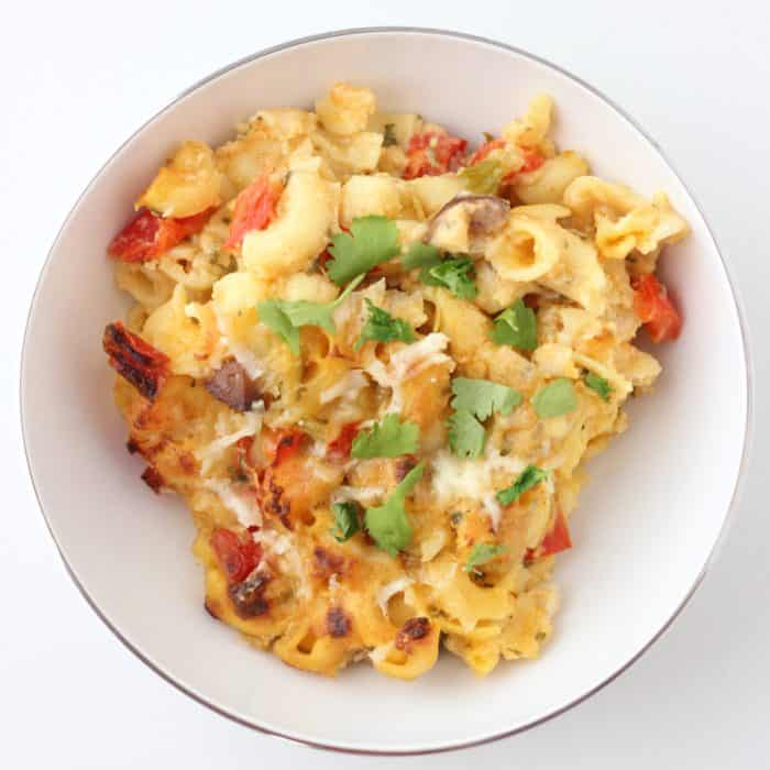 Cajun Mac and Cheese from Living Well Kitchen
