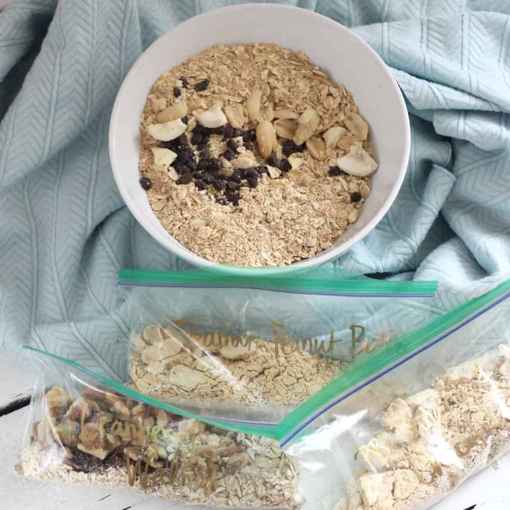 instant oatmeal packs from Living Well Kitchen