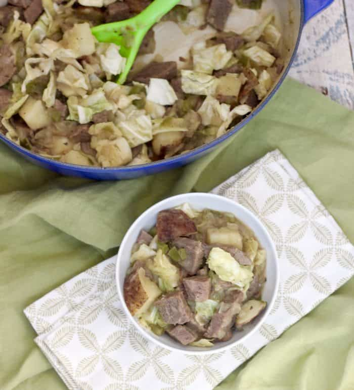 Corned Beef and Cabbage Hash from Living Well Kitchen