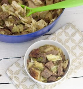 Corned Beef and Cabbage Hash