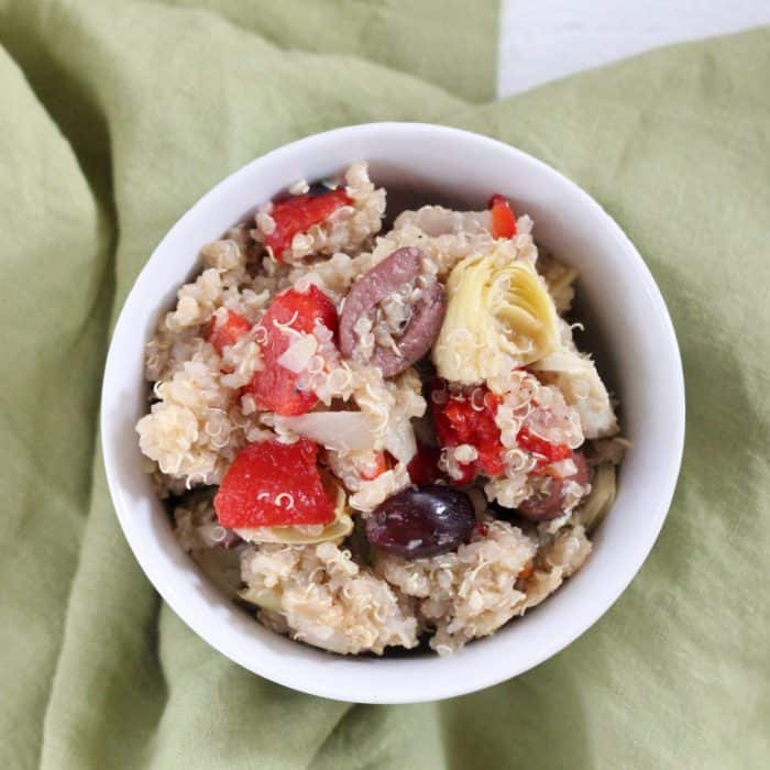 Greek Quinoa Salad from Living Well Kitchen