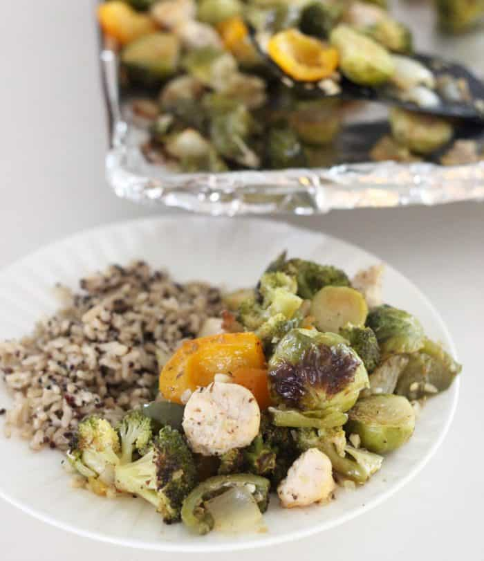 Sheet Pan Chicken and Veggies from Living Well Kitchen