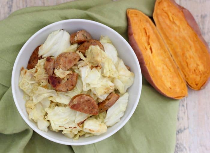 Sautéed Sausage and Cabbage from Living Well Kitchen