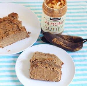 Almond Coconut Banana Bread