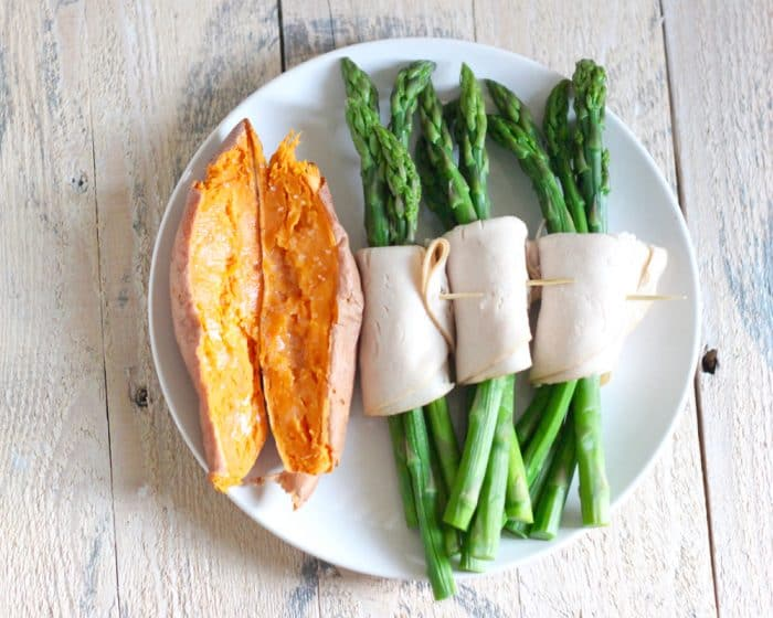 Turkey and Asparagus Roll Ups from Living Well Kitchen